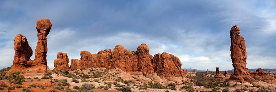 Garden of Eden, Arches National Park - Utah