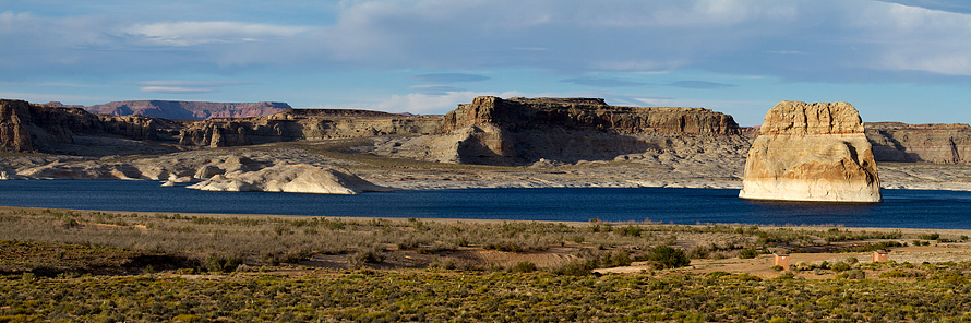 Lone Rock, Lake Powel - Arizona
